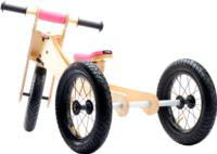 Wooden 4-in-1 Trybike - Pink Trim stage 1