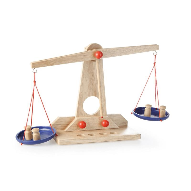 Wooden Scale Set