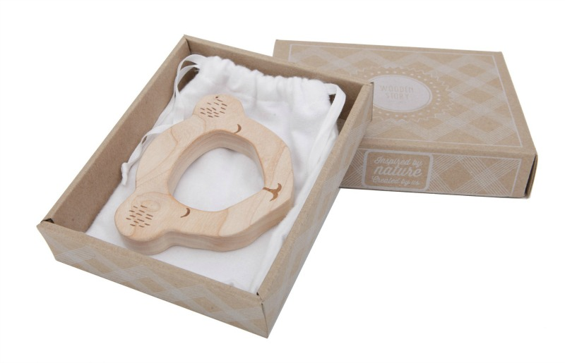 Wooden Story Koala Maple Wood Teether