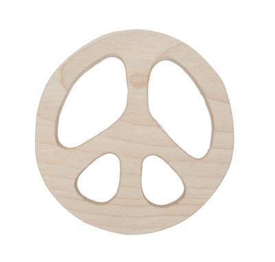Wooden Story Peace Maple Wood Teether