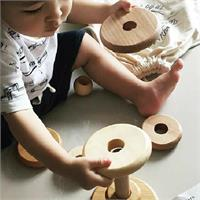 Wooden Story Round Stacker