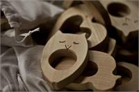 Wooden Story Maple Wood Teether