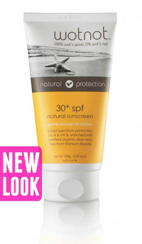 Wotnot Sunscreen  SPF30+ - 150g