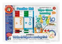 Write and Wipe Learning Set Addition Skills