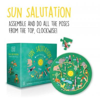 Yogi FUN Yoga Sun Salutation Floor Puzzle