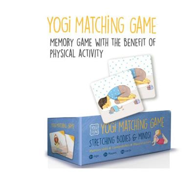 Yogi FUN Yoga Yogi Matching Game