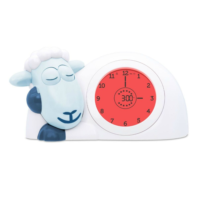 Zazu Blue SAM Sleeptrainer Clock - Time To Sleep