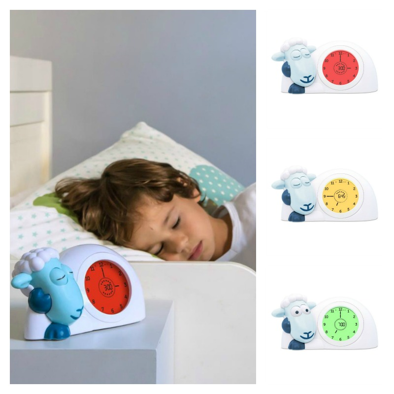 Zazu Blue SAM Sleeptrainer Clock