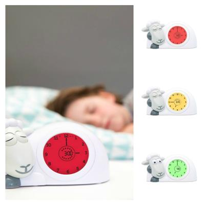 Zazu Grey SAM Sleeptrainer Clock