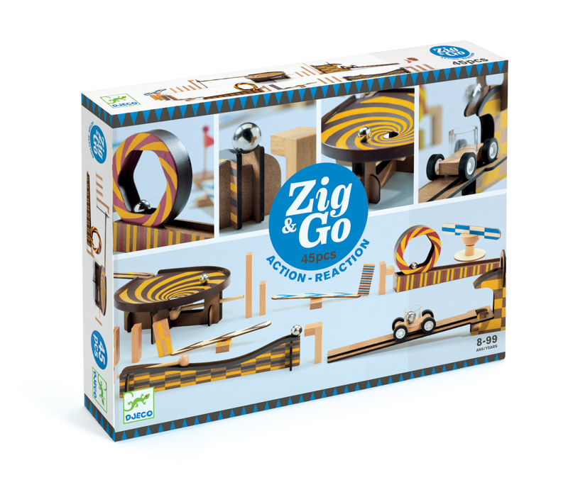 Zig and Go 45 Piece Set