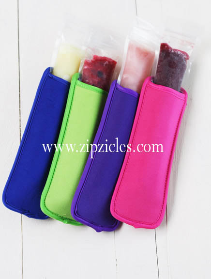 4 Pack Neoprene Ice Pop Holders